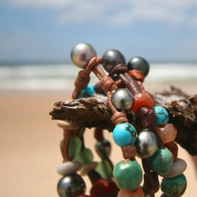 treasures bracelets st barth leather jewelry