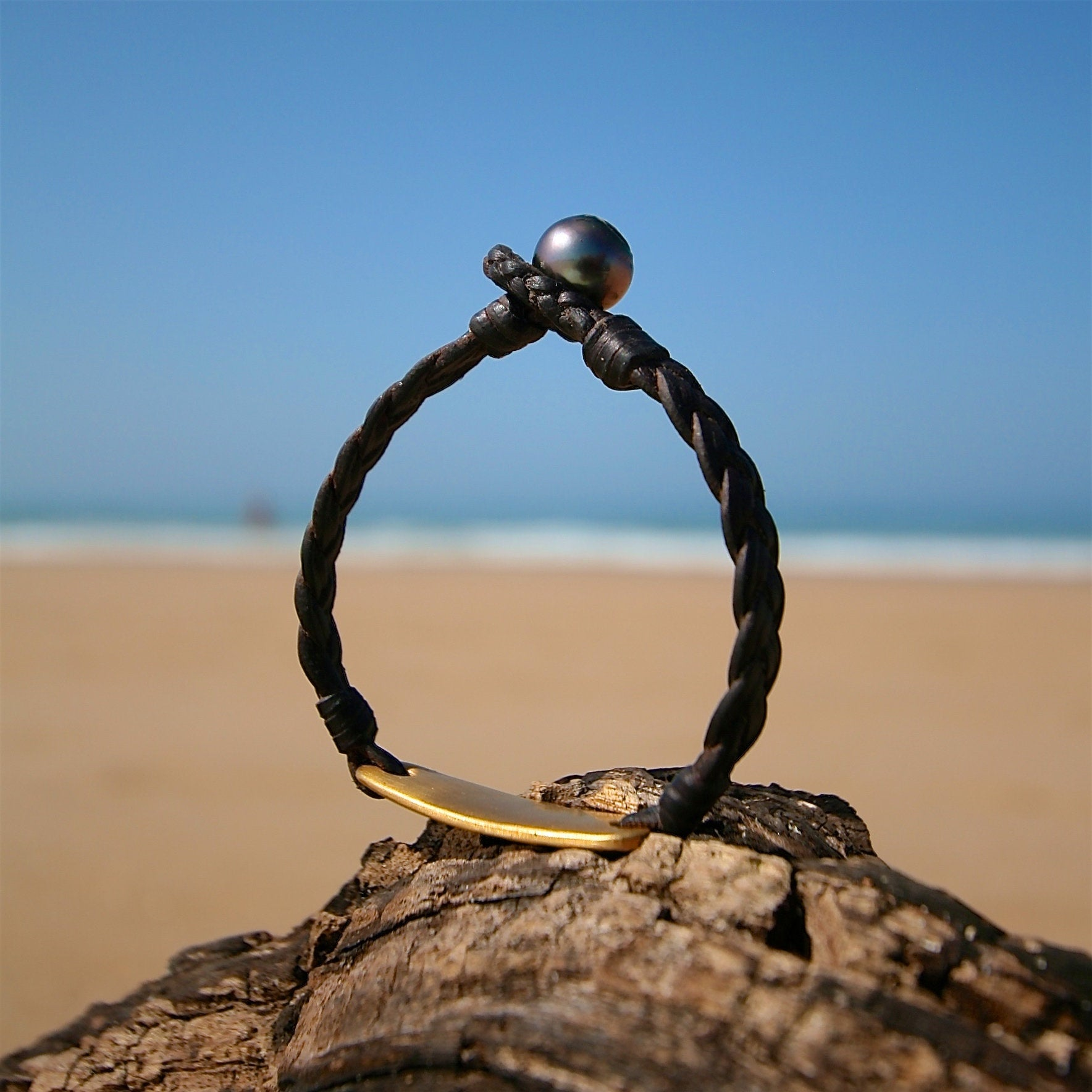 braided leather jewelry st barth