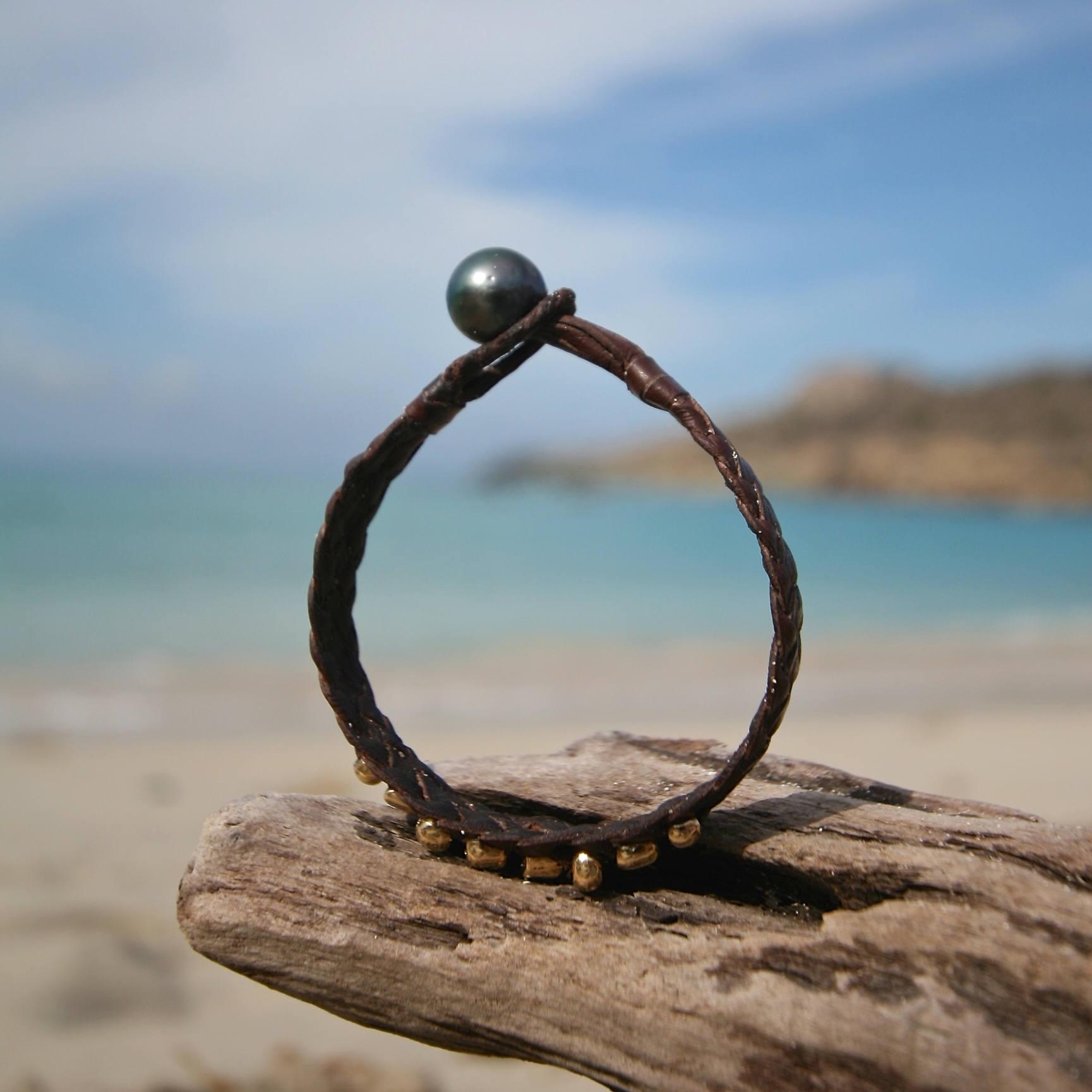 st barth jewelry leather mens bracelet
