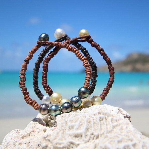 saline beach bracelet St Barths jewelry