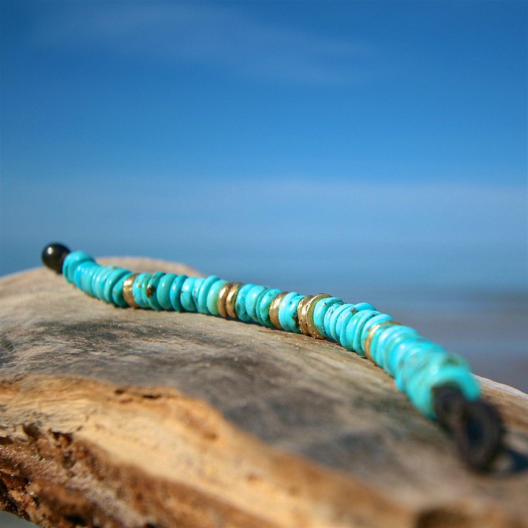 treasure leather bracelet st barth jewelry