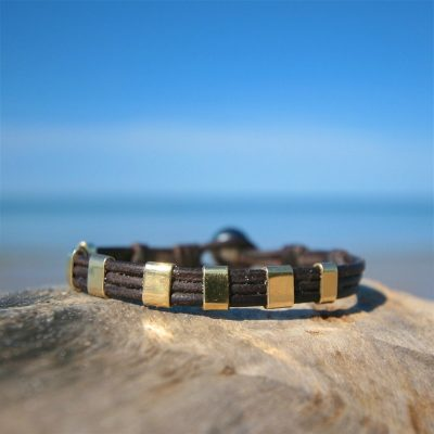 leather jewelry for mens st barth