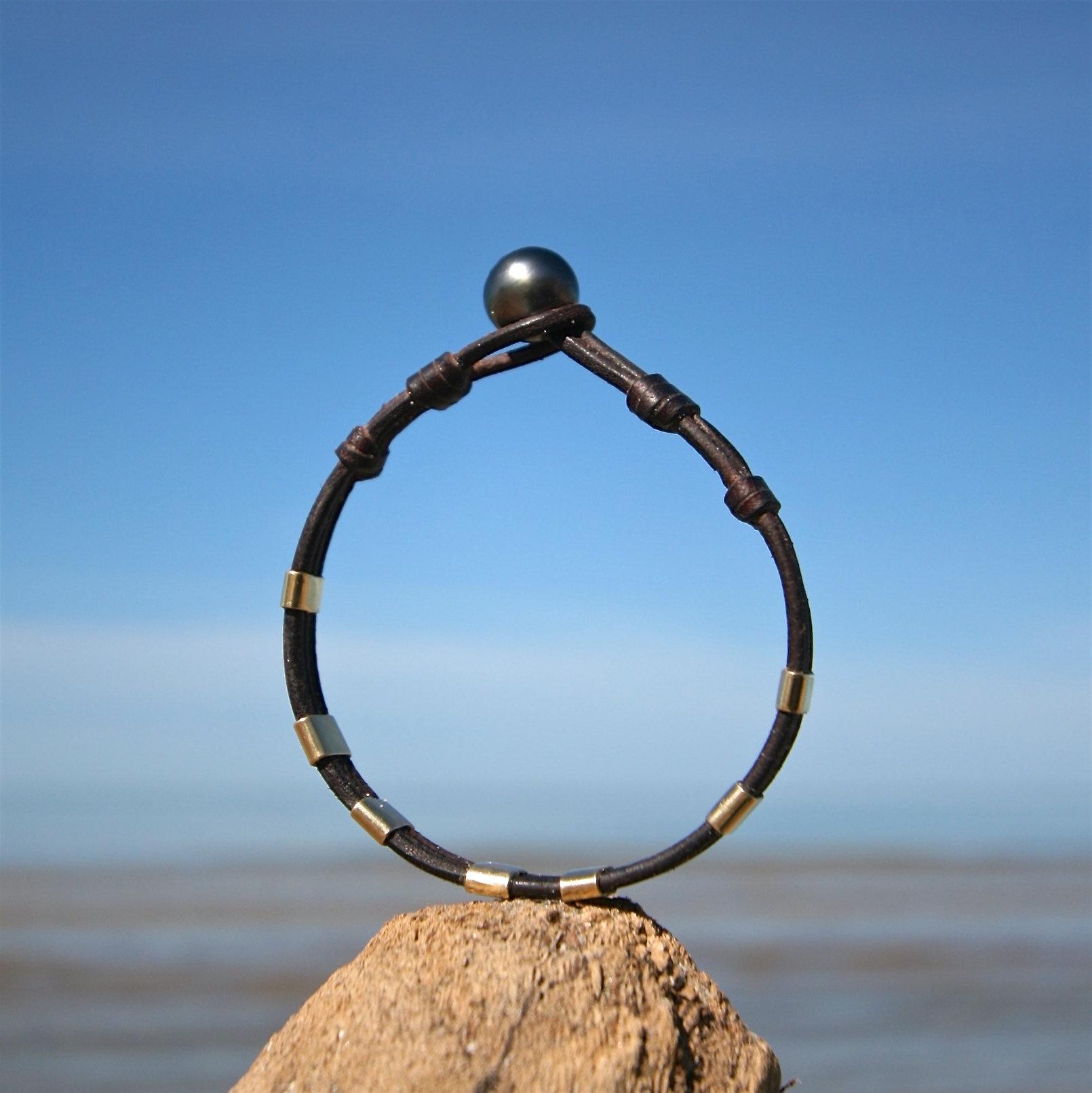 mens bracelet gold st barth jewelry