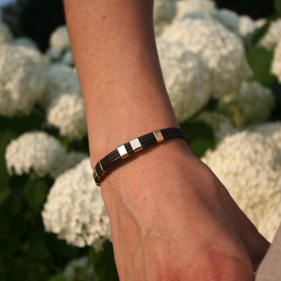 mens leather bracelet st barth jewelry