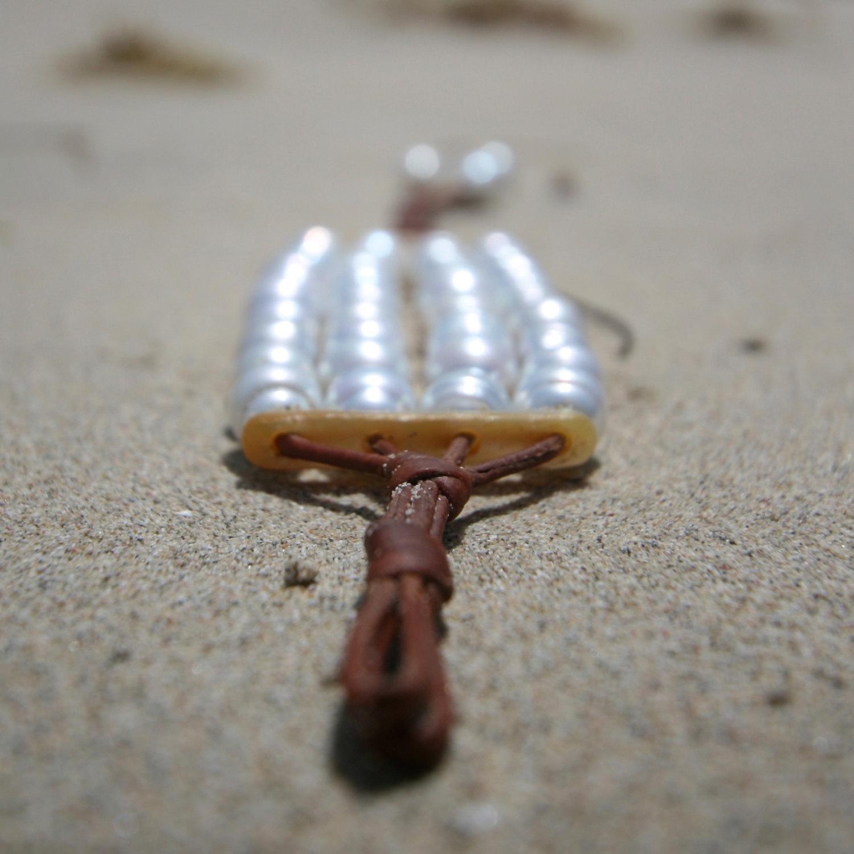 white pearls bracelet Jewelry st barth