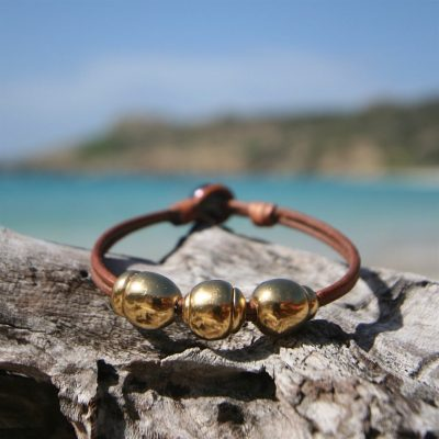 leather pearl bracelet Jewelry st barth