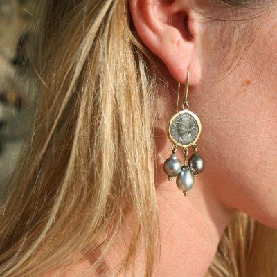 St Barth earrings jewelry pearls