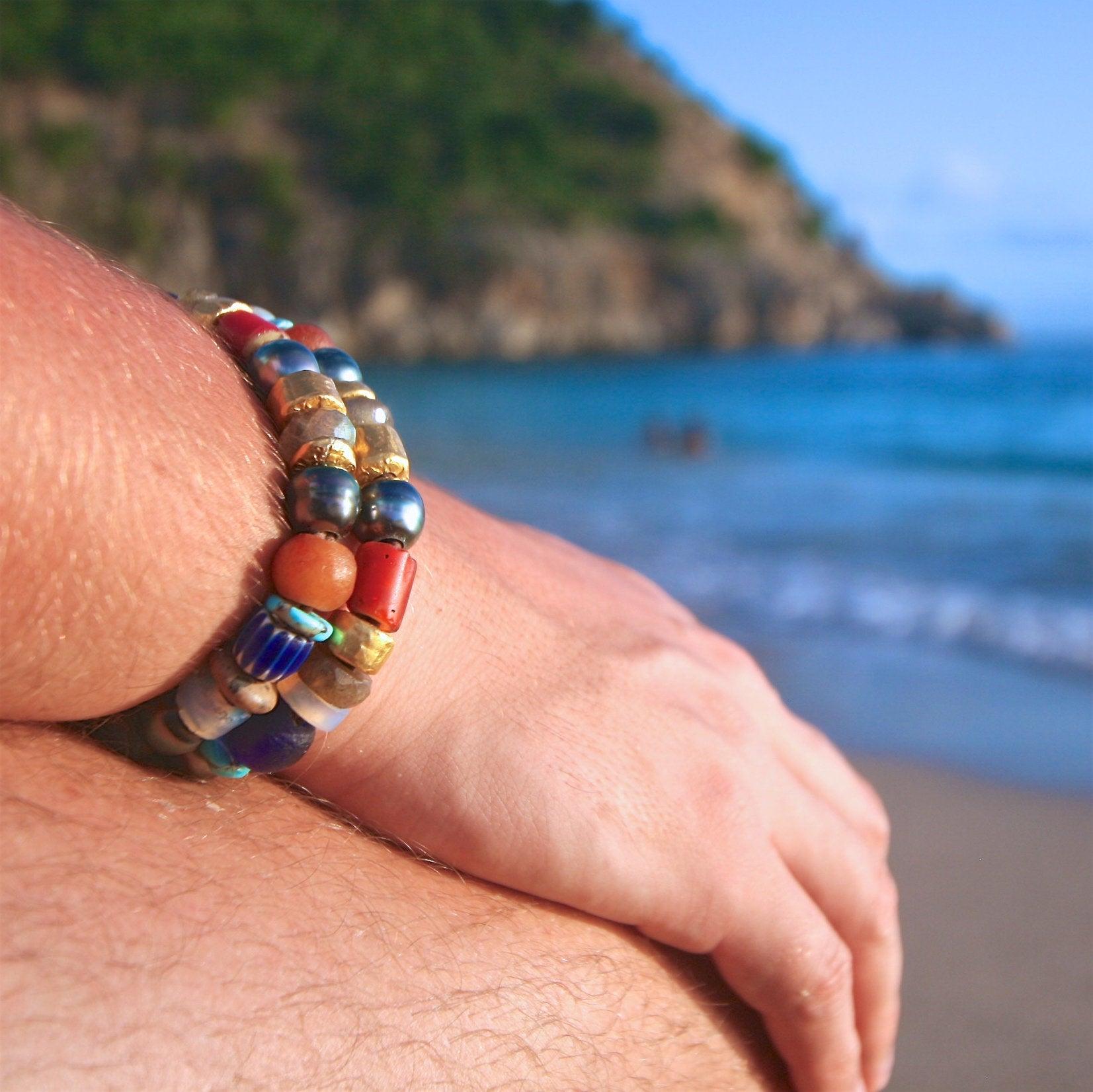 tahitian pearl bracelet St Barth jewelry